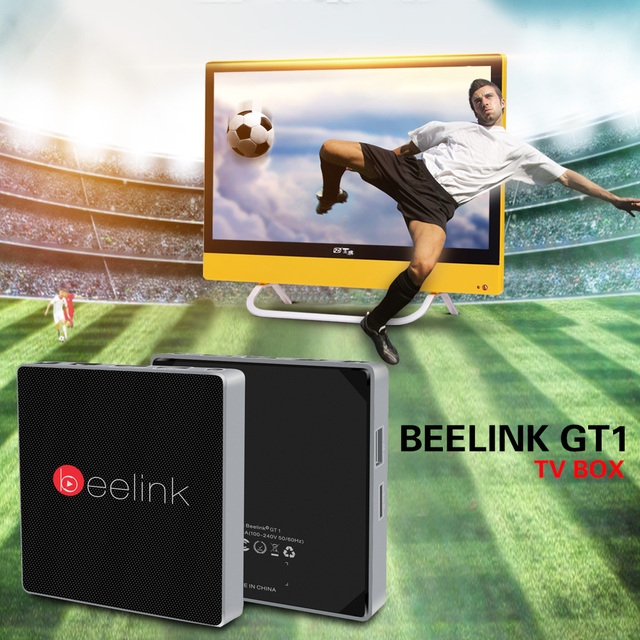 GT1 Beelink Amlogic TV Box 4 К S912 Quad Core Android 6.0 2.4 Г + 5.8 Г Dual WiFi Bluetooth 4.0 2 Г 16 ГБ Set top TV box ПК A95X X96