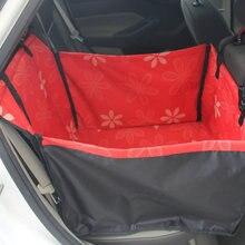 Foldable Pet Dog Carrier With Leash Dog Bag Easy-Fit Dog Car Seat Bag for Dog Cat Bag Stroller for Travel Zipper Hammock Style