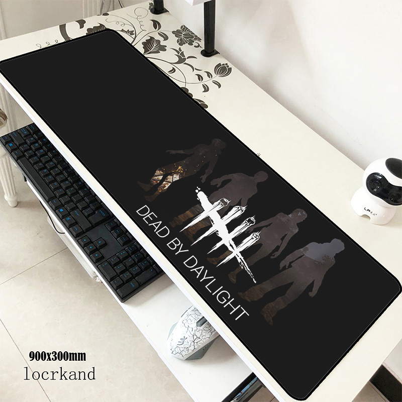 Dead By Daylight Mats 900x300x3mm Christmas Gaming Mouse Pad Big Keyboard Mousepad Gifts Notebook Gamer Accessories Padmouse Mat
