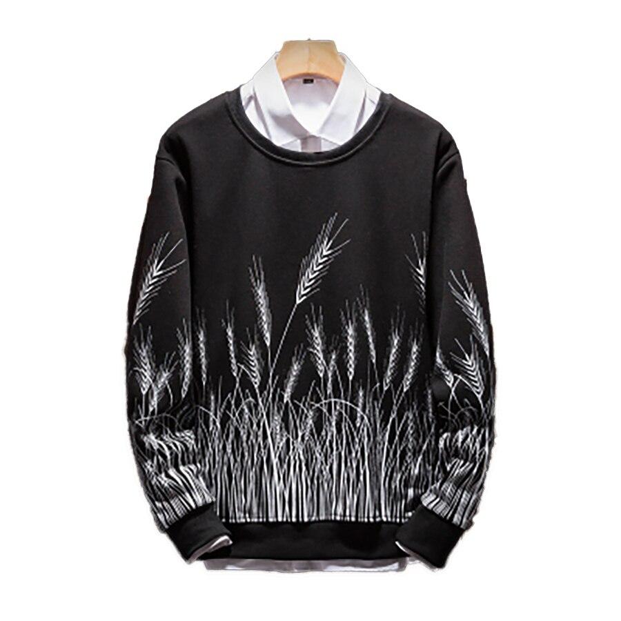 5xl t-Shirt à manches longues hommes imprimer Harajuku Swag hommes t-shirts mode 2018 Streetwear drôle t-Shirt hommes hauts hipster Geek T6042
