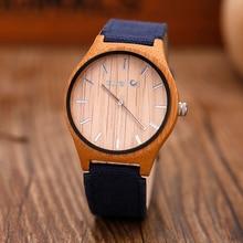 Top Brand Luxury Men Watches Canvas Quartz Wooden Watches Casual Fashion Women Wood Wristwatches relogio masculino