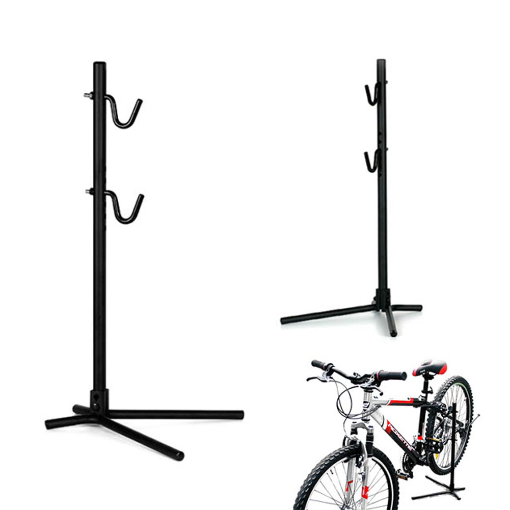 Metal Bike Repair Stand Height Adjustable Bike Bicycle Rear Stay Bracket Stand Hold Portable Repair Holder Parts Black hot sale