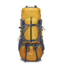 цена на 65L Outdoor Backpack Large Capacity Multi-purpose Hiking Bag Camping Rucksacks Climbing Travel Backpacks Waterproof Sport Bag