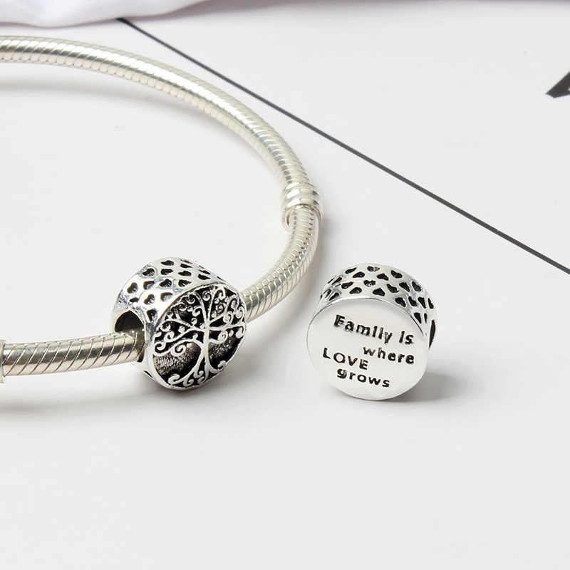 El más nuevo envío gratis, 1 unidad, pulsera con dije de Pandora, pulsera con diseño de corazón de plata europea, unicornio, dulce Casa, calabaza, Océano, diy, F005