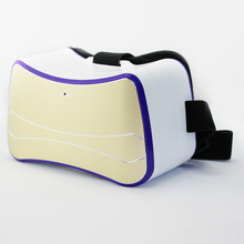 Finewin Cheapest All In One Virtual Reality VR 3D Glasses With Earphone High Quality Free Shipping