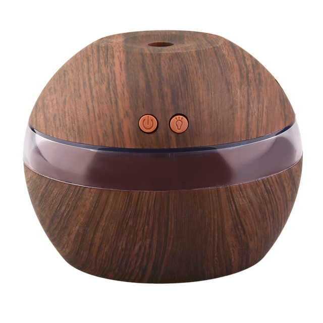 Mini Size USB Air Aroma Essential Oil Diffuser Portable Mist Maker LED Light Ultrasonic Aroma Aromatherapy Humidifier