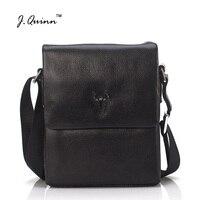 J. Quinn мужская сумка мессенджер топ из натуральной кожи дизайнерские сумки высокого качества Мужская сумка из воловьей кожи мужская сумка че