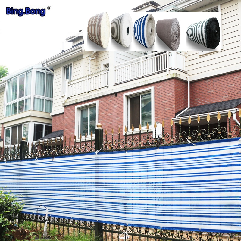 Fence shelter network HDPE Guardrail balcony terrace fence shade sun shading dust anti-uv baby child protective isolation safety