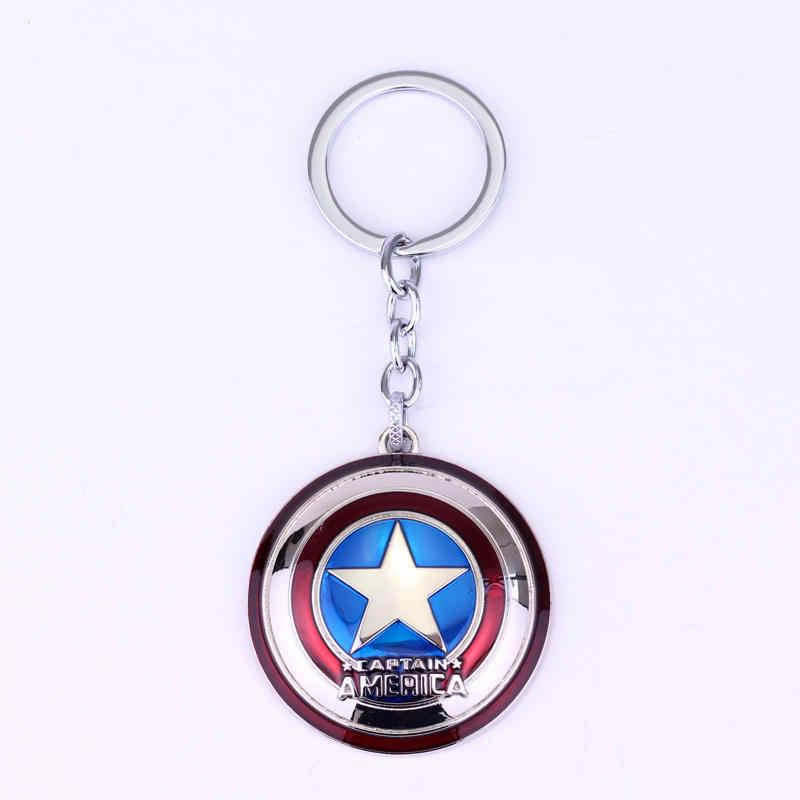 2019 Mới Marvel Avengers Thor Của Búa Mjolnir Móc Khóa Khiên Captain America Hulk Batman Mặt Nạ Móc Khóa Keyrings Thả Bán Buôn