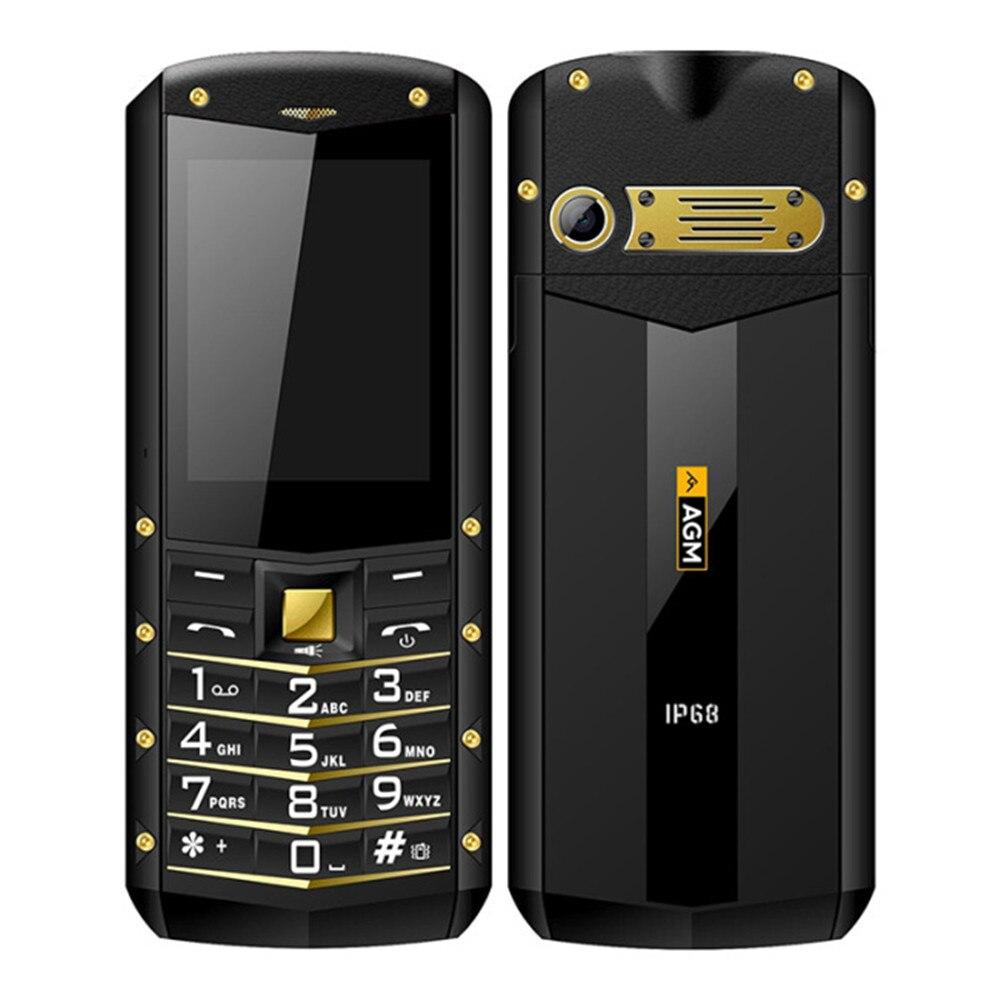 Купить AGM M2 SC6531DA 2,4 дюймов Экран Bluetooth IP68 Водонепроницаемый пылезащитный Dropproof Dual SIM 2 г Мобильный Бар телефон на Алиэкспресс