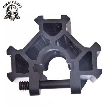 Heißer Taktische Aluminium Legierung H & K MP5 Tri-Schiene Picatinny Handschutz System Adapter Mount Scope Für AEG Airsoft Jagd Zubehör