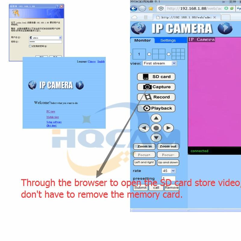 HQCAM 720P 960P 1080P Audio WIFI IP Camera indoor Wireless Surveillance Home Security Camera Onvif Camera TF Card Slot APP CAMHI 27