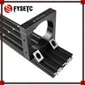Диаметр 80 мм  3D принтер  часть CNC маршрутизатор  набор для добавления мыши  алюминиевый маршрутизатор  набор для крепления шпинделя для Workbee OX...