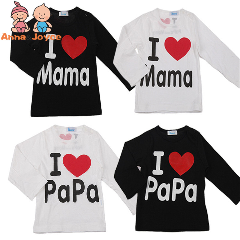 Fashion-Design-Summer-Thin-Short-Sleeve-Simple-Letter-Love-Mom-and-Dad-Baby-Cotton-Short-Sleeved-T-shirt-TST0015-5