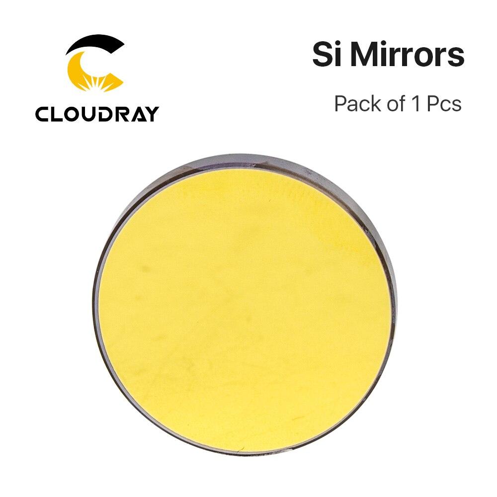 Cloudray Hohe Qualität Si Reflektierende Spiegel D19.05 20 25 30 38,1mm Beschichtet Gold für CO2 Laser Gravur Schneiden Maschine