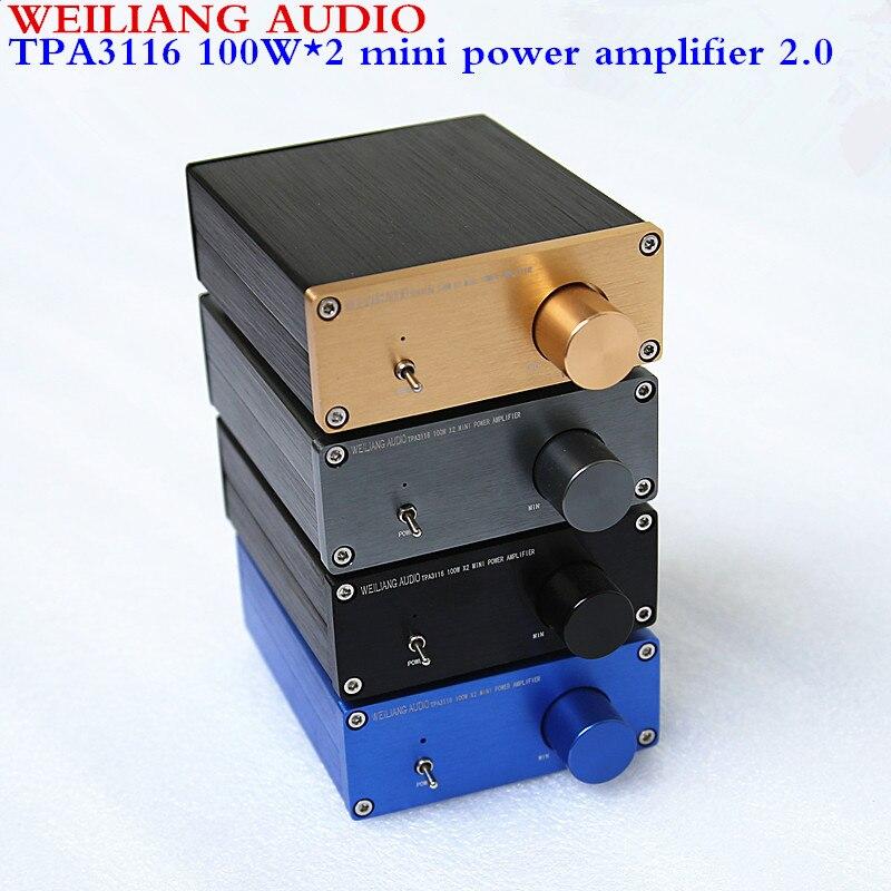 WEILIANG AUDIO TPA3116 2,0 klasse D mini digital power verstärker maximale ausgang power 100W * 2