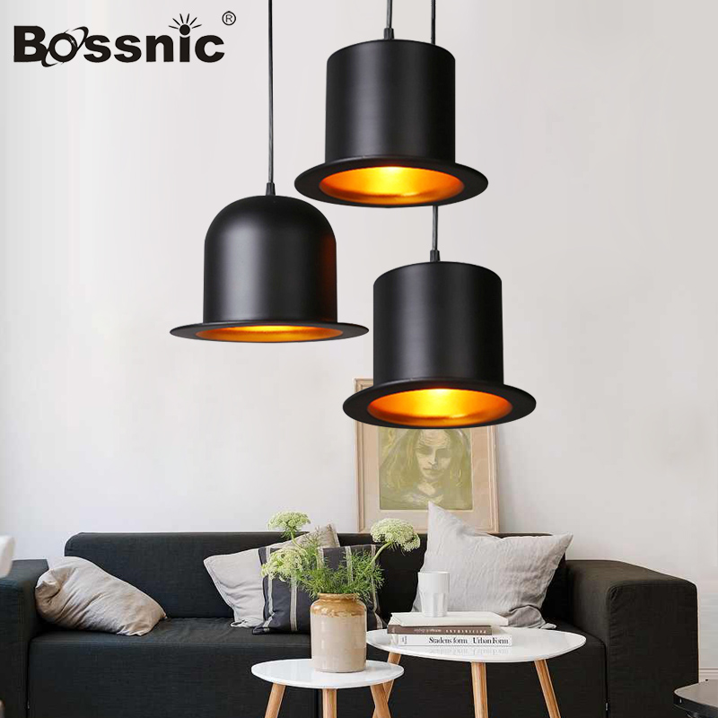 BossnicLighting Restoring ancient ways Aluminum Magic hat Pendant light  for Living room|Dining room|Bedroom|Hotel lamp