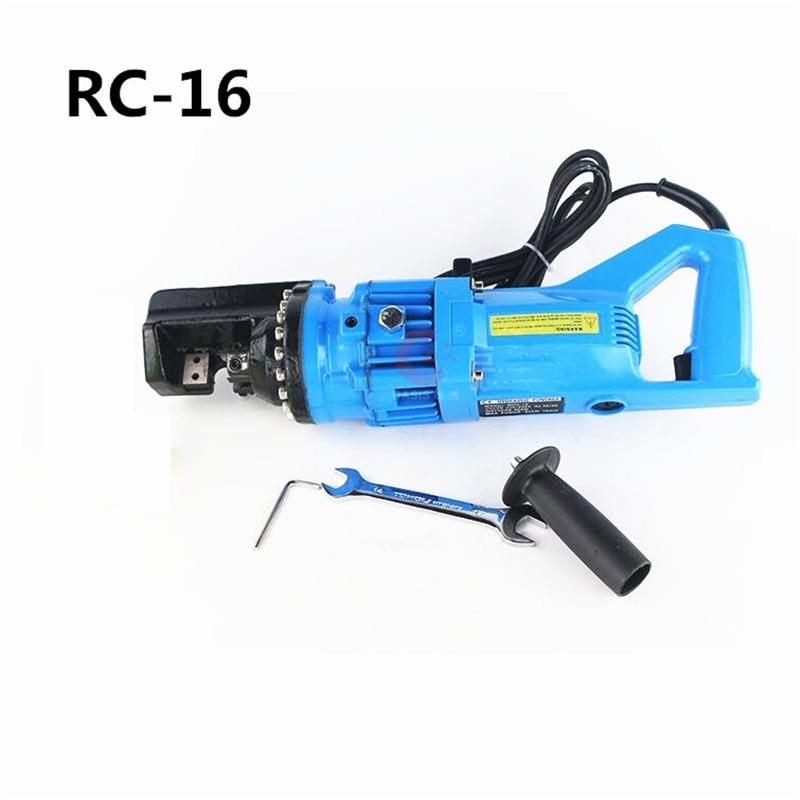 Electric Hydraulic Rebar Cutting Pliers Electric Steel Cutter RC 16 4 16MM 220V