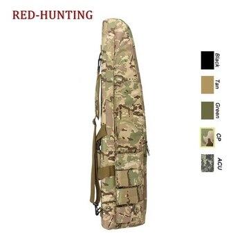 47'' 120cm/70cm/95cm Tactical Gun Bag Heavy Duty Rifle Shotgun Carry Case Bag Shoulder Bag for Outdoor Hunting 5