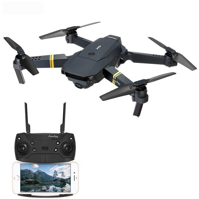 Eachine E58 WIFI FPV Avec Grand Angle HD Caméra Haute Tenue Mode Pliable Bras drone rc quadrirotor RTF - 2