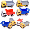 2pcs/lot Engineering vehicle autotruck for kids toys gift transport machine sliding car truck model children's educational toys