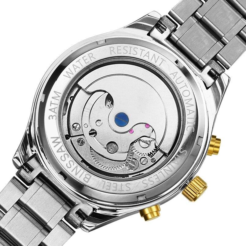 BINSSAW Marca de lujo Tourbillon Hombres Relojes deportivos - Relojes para hombres - foto 3