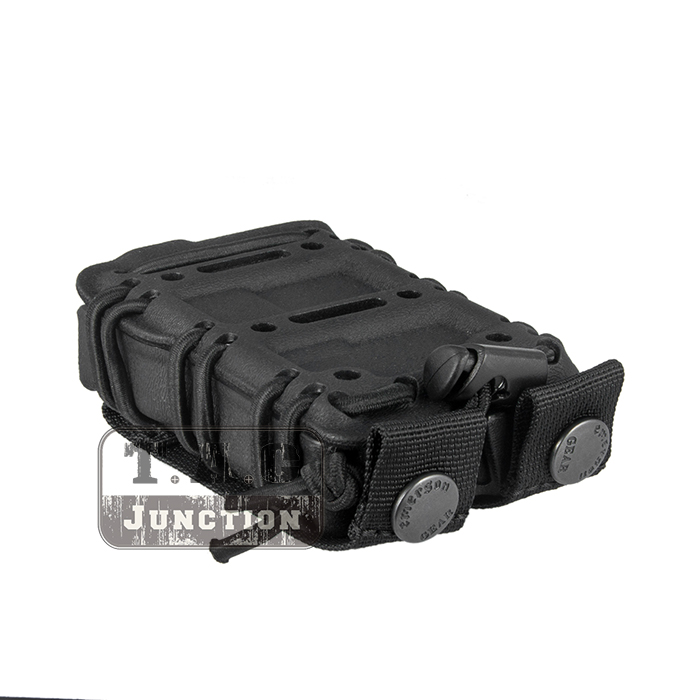Image 5 - Emerson Tactical MOLLE and Belt Clip M4 M16 / AR15 556 5.56 .223 Mag Pouch Emersongear Magazine Carrier Holder-in Holsters from Sports & Entertainment