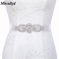 Rhinestone Wedding Belts Crystal Wedding Dress Sashes Wedding Accessories DIY Bride Bridal Belts Bridal Sashes Free Shipping