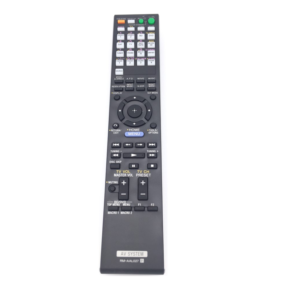 RM-AAL027 Commander For SONY STR-DA3500ES AV Receiver Remote Control remote control suitable for sony rm gd005 kdl 32ex402 rm ed022 rm ed036 lcd tv