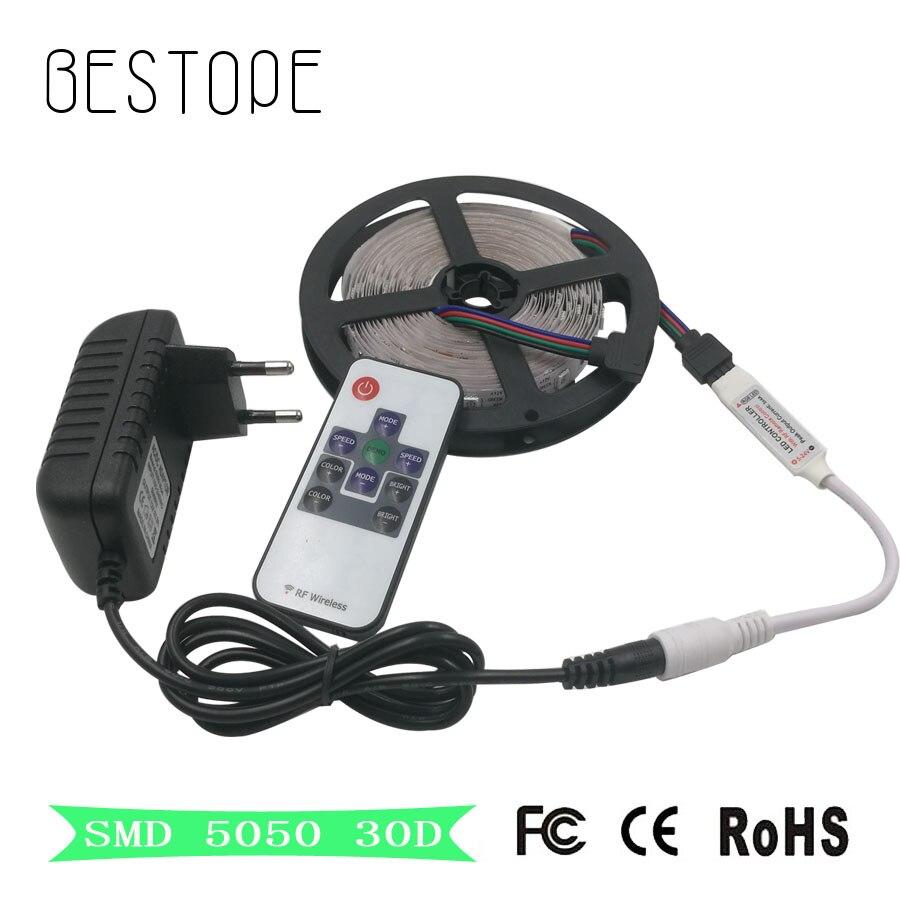 Waterproof 5050 Tape Light: RGB LED Strip Led Light Waterproof Or Waterproof 5050 SMD