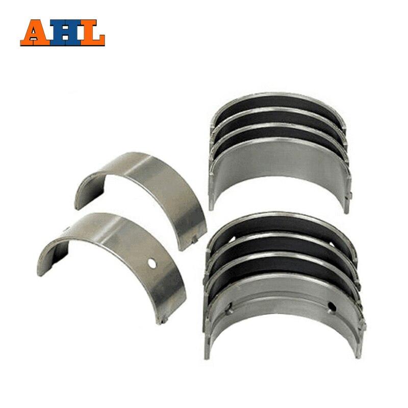 AHL 8pcs set Motorcycle Engine Parts For Kawasaki ZZR600 STD Connecting Rod Crank shaft Bearing