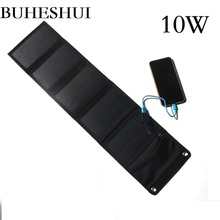 Buheshui 10 w 5 v carregador de painel solar ao ar livre para/iphone/telefone móvel/power bank 8 w 6 carregador de bateria solar frete grátis