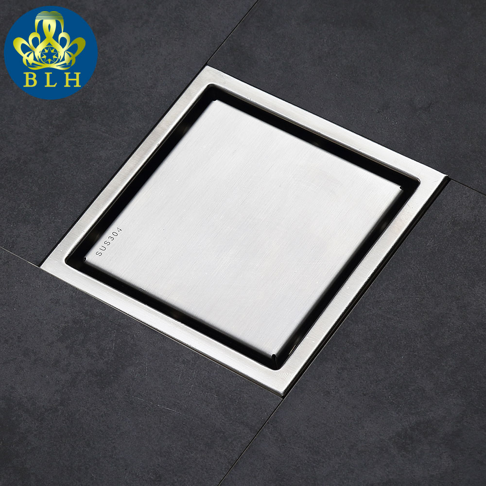 d554 tile insert square floor waste grates bathroom shower drain floor drain antique fltro ducha drain - Shower Drains