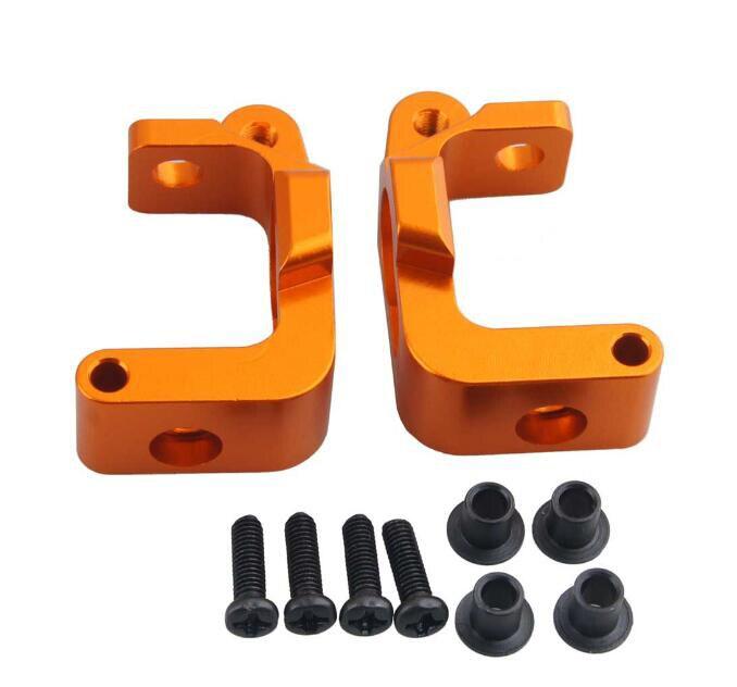 Free Shipping 2pcs Aluminium alloy Base C seat Door type seat for 1/10 HPI Bullet 3.0 Flux ST/MT/WR8 RC Car