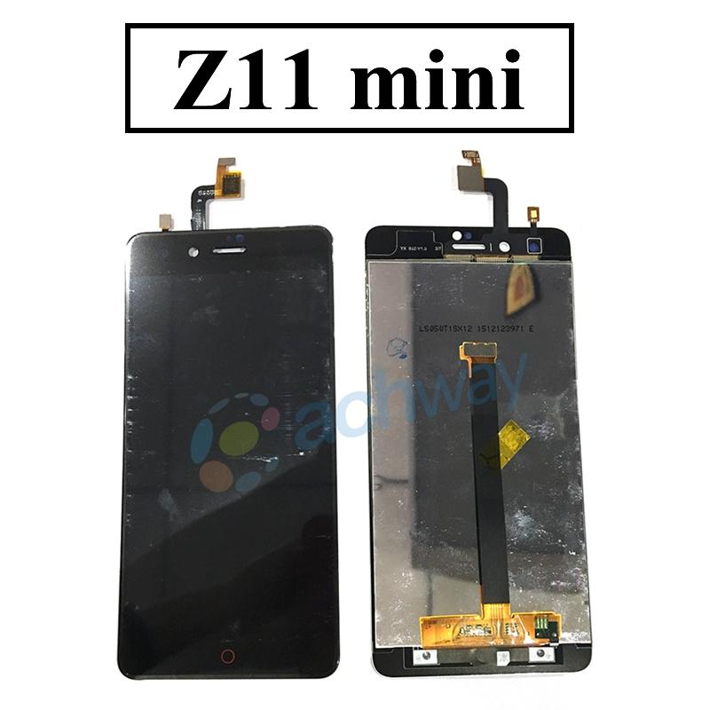 Prix pour Pour ZTE nubia Z11 mini/miniS LCD Affichage à L'écran Tactile Digitizer Assemblée Pour ZTE Z11 mini S LCD Pièces De Rechange