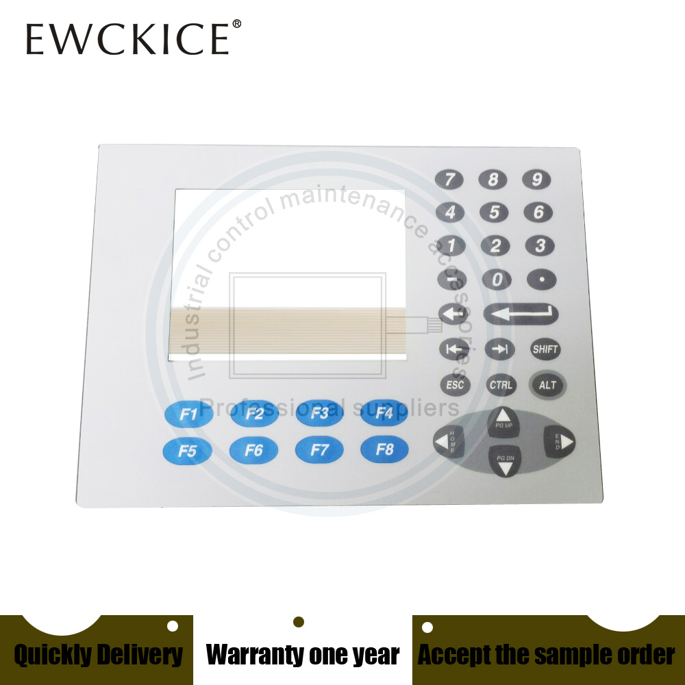 NEW PanelView Plus 400 2711P-K4M20A8 2711P-K4M20D/C 2711P-K4M20D/B HMI PLC Membrane Switch keypad keyboard pair of stylish rhinestone alloy stud earrings for women