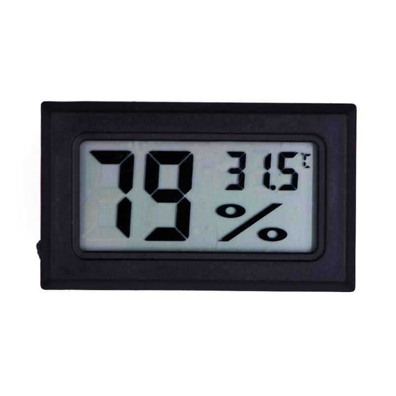 Mini testa di rilevamento LCD digitale igrometro termometro misuratore di umidità temperatura -50 ~ 70C 10% ~ 99% strumento di test UR 20% di sconto