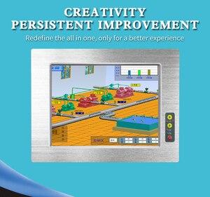 Image 3 - 전면 패널 방수 팬리스 견고한 태블릿 미니 8.4/10.4/12.1/15 인치 인텔 셀러론 j1900 산업용 패널 pc