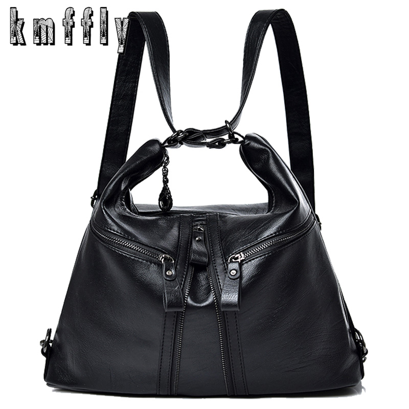 3 in 1 Women Handbags Large Capacity Messenger Bag For Women 2019 New Multifunction Lady Shoulder Bag Luxurious Leather Big Tote