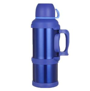 Image 4 - Stainless steel vacuum thermos car kettle outdoor travel insulation kettle 4 5L large capacity