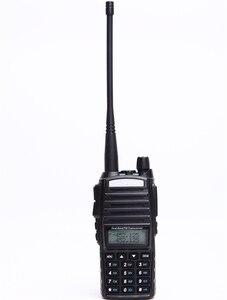 Image 1 - Baofeng UV 82 워키 토키 10 km 듀얼 ptt 양방향 무선 듀얼 밴드 핸드 헬드 휴대용 uv 82 트랜시버