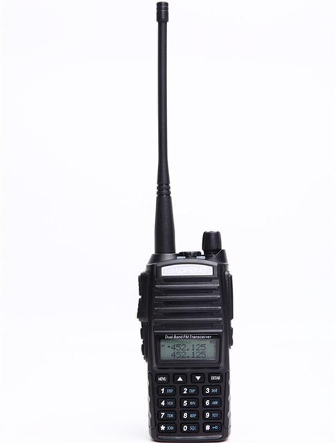 Baofeng UV 82 walkie talkie 10km dual PTT two way wireless dual band handheld portable UV 82 transceiver