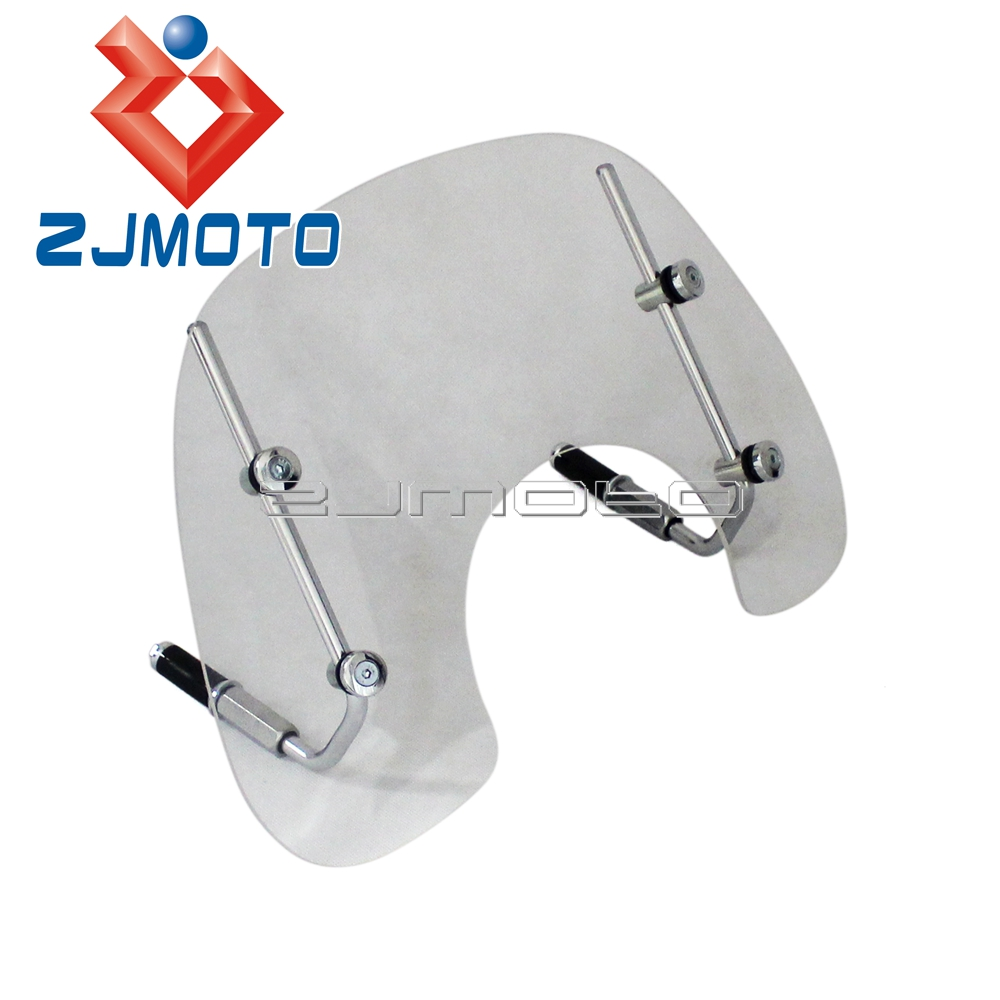 Scooter Windshield Wind Deflector For VESPA LX150 LX50 2005 2014 Motorcycle Windscreen