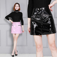 2018 New Fashion Genuine Sheep Leather Skirt K4 2020 women new real genuine sheep leather skirt k4