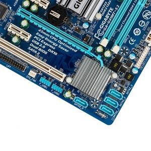 Image 5 - Gigabyte GA G41MT S2 Desktop Motherboard G41MT S2 G41 Socket LGA 775 For Core 2 DDR3 8G Micro ATX Original Used Mainboard