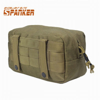 Spanker EDC Molle Pouch Military Tool Drop Bag Tactical Airsoft Vest Sundries Camera Magazine Storage Bag