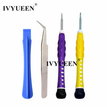 IVYUEEN Four in 1 Screwdriver Restore Instruments Package for Nintend Swap NS NX Controller Pleasure con Console Sport Equipment