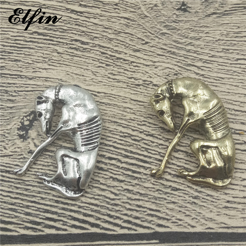Elfin 2018 Trendy Italian Greyhound Pendants Fashion Dog Jewelry Grey Hhound Whippet Pendant Women Jewellery