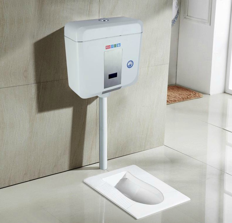 Fast and induction squatting energy-saving sanitary water tank automatic toilet squatting toilet flushing valve pool feeling фанкойл mdv mdkt3h 1600g100