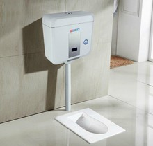 Купить с кэшбэком Fast and induction squatting energy-saving sanitary water tank automatic toilet squatting toilet flushing valve pool feeling